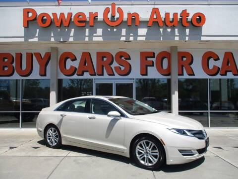 2014 Lincoln MKZ Hybrid for sale at Power On Auto LLC in Monroe NC