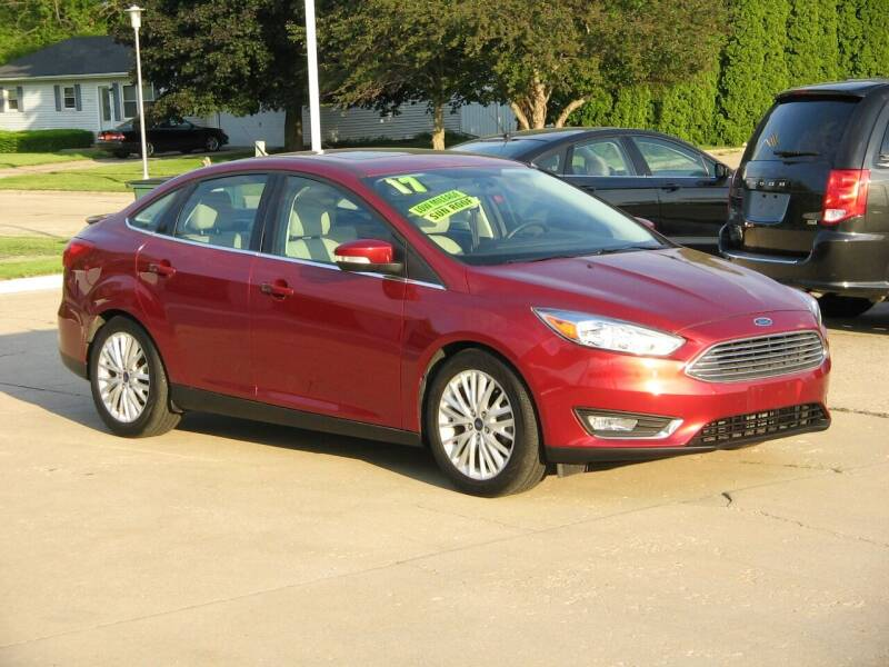 2017 Ford Focus for sale at Rochelle Motor Sales INC in Rochelle IL