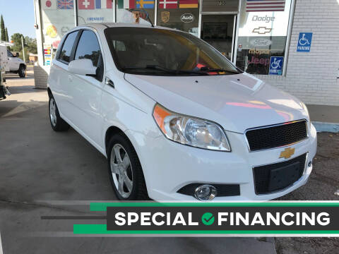2011 Chevrolet Aveo for sale at Fiesta Motors Inc in Las Cruces NM