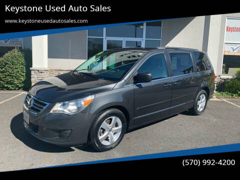 2011 Volkswagen Routan for sale at Keystone Used Auto Sales in Brodheadsville PA
