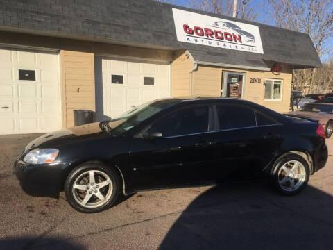 2007 Pontiac G6 for sale at Gordon Auto Sales LLC in Sioux City IA