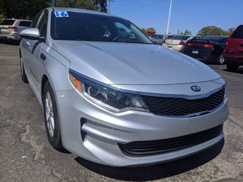 2016 Kia Optima for sale at GREAT DEALS ON WHEELS in Michigan City IN