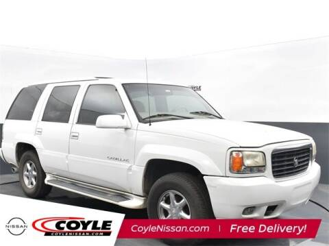 1999 Cadillac Escalade for sale at COYLE GM - COYLE NISSAN - Coyle Nissan in Clarksville IN