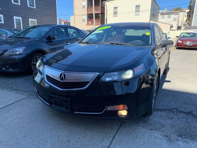2013 Acura TL for sale at Rockland Center Enterprises in Roxbury MA