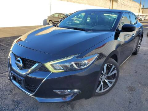 2016 Nissan Maxima for sale at Auto Center Of Las Vegas in Las Vegas NV