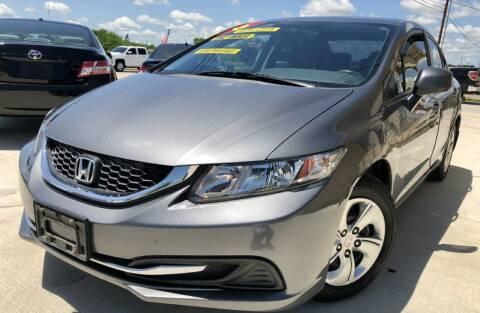 2013 Honda Civic for sale at Raj Motors Sales in Greenville TX