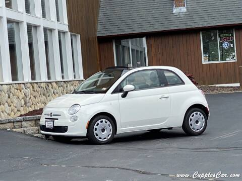2013 FIAT 500c for sale at Cupples Car Company in Belmont NH