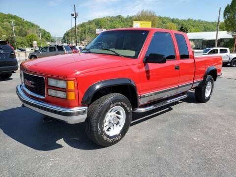 1998 GMC Sierra 1500 for sale at MCMANUS AUTO SALES in Knoxville TN
