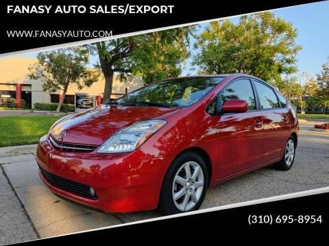 2008 Toyota Prius for sale at FANASY AUTO SALES/EXPORT in Yorba Linda CA