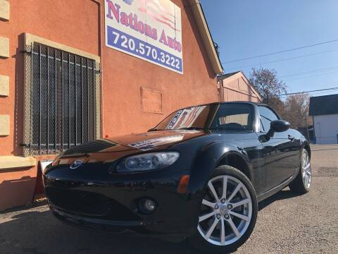2006 Mazda MX-5 Miata for sale at Nations Auto Inc. II in Denver CO