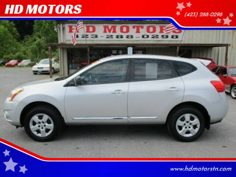 2012 Nissan Rogue for sale at HD MOTORS in Kingsport TN