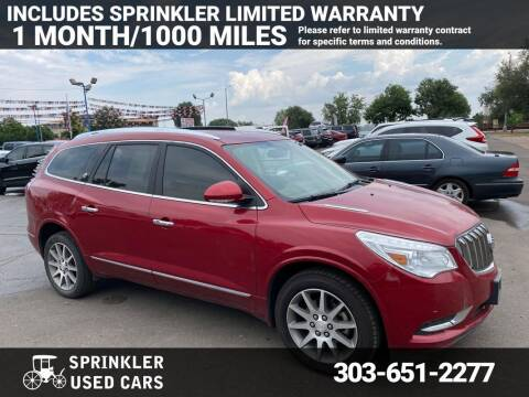 2014 Buick Enclave for sale at Sprinkler Used Cars in Longmont CO