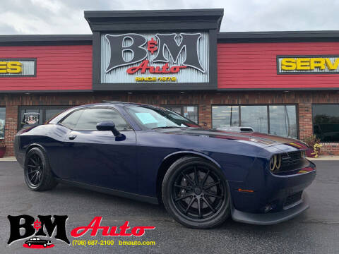 2015 Dodge Challenger for sale at B & M Auto Sales Inc. in Oak Forest IL