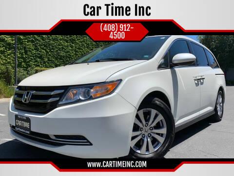 2016 Honda Odyssey for sale at Car Time Inc in San Jose CA