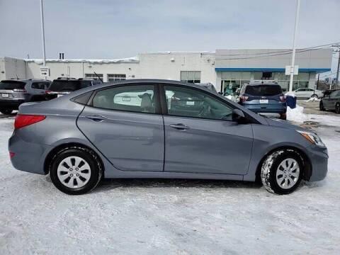 2017 Hyundai Accent for sale at Hawk Chevrolet of Bridgeview in Bridgeview IL