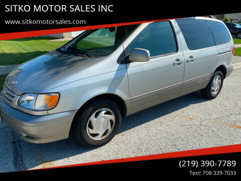 2002 Toyota Sienna for sale at SITKO MOTOR SALES INC in Cedar Lake IN