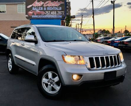 2012 Jeep Grand Cherokee for sale at Auto Outlet Sales and Rentals in Norfolk VA