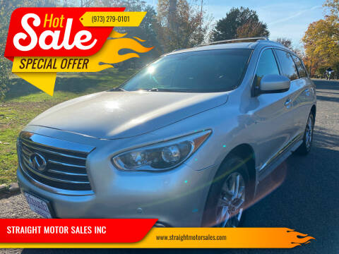 2014 Infiniti QX60 for sale at STRAIGHT MOTOR SALES INC in Paterson NJ