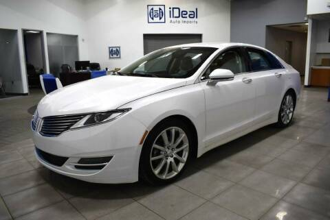 2016 Lincoln MKZ Hybrid for sale at iDeal Auto Imports in Eden Prairie MN