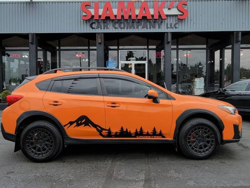 2018 Subaru Crosstrek for sale at Siamak's Car Company llc in Salem OR
