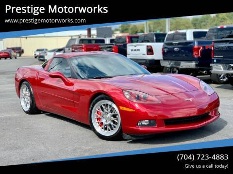 2005 Chevrolet Corvette for sale at Prestige Motorworks in Concord NC