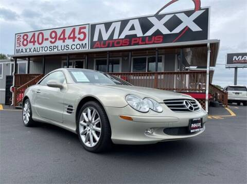 2003 Mercedes-Benz SL-Class for sale at Maxx Autos Plus in Puyallup WA