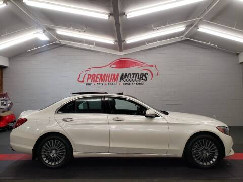 2015 Mercedes-Benz C-Class for sale at Premium Motors in Villa Park IL