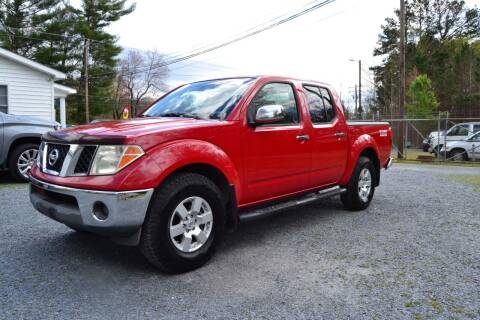 2006 Nissan Frontier for sale at Victory Auto Sales in Randleman NC