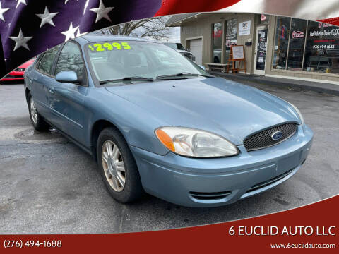 2005 Ford Taurus for sale at 6 Euclid Auto LLC in Bristol VA