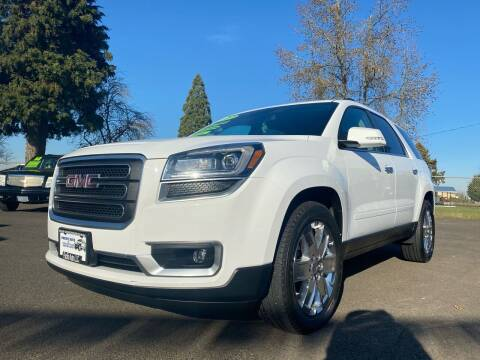 2017 GMC Acadia Limited for sale at Pacific Auto LLC in Woodburn OR