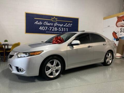 2012 Acura TSX for sale at Auto Chars Group LLC in Orlando FL