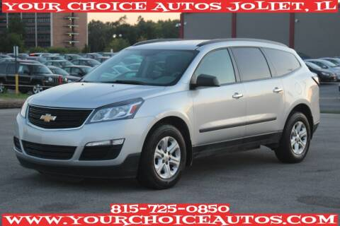 2015 Chevrolet Traverse for sale at Your Choice Autos - Joliet in Joliet IL