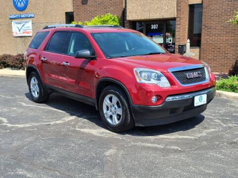 2012 GMC Acadia for sale at Mighty Motors in Adrian MI