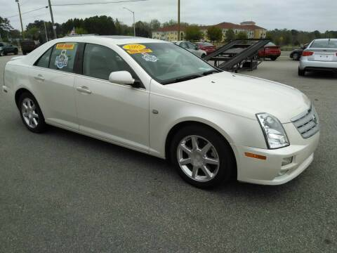 2005 Cadillac STS for sale at Kelly & Kelly Supermarket of Cars in Fayetteville NC