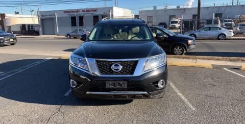 2013 Nissan Pathfinder for sale at Frank's Garage in Linden NJ