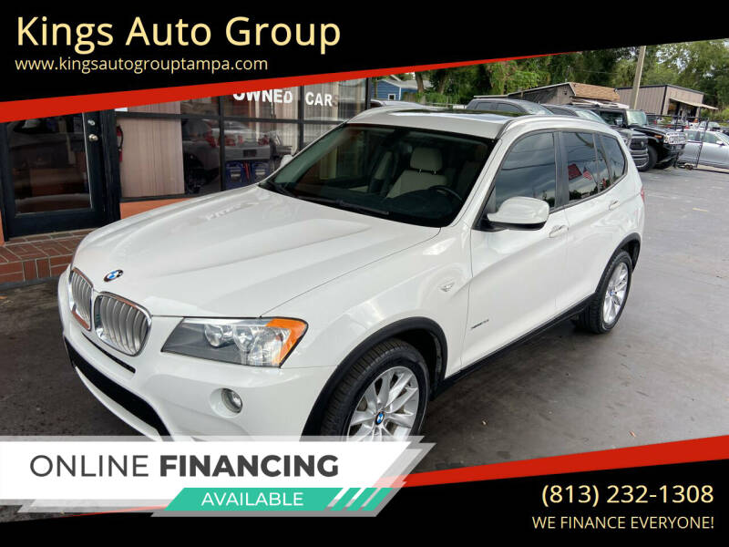 2013 BMW X3 for sale at Kings Auto Group in Tampa FL
