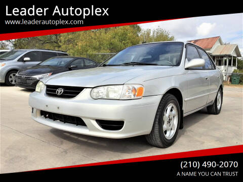 2002 Toyota Corolla for sale at Leader Autoplex in San Antonio TX