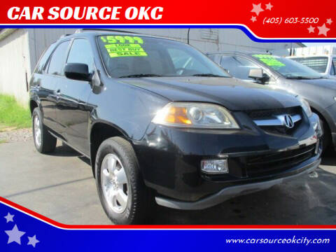 2004 Acura MDX for sale at CAR SOURCE OKC in Oklahoma City OK