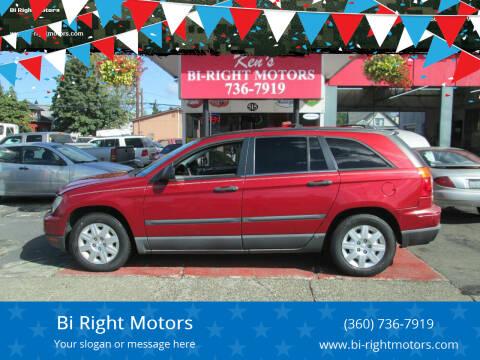 2008 Chrysler Pacifica for sale at Bi Right Motors in Centralia WA