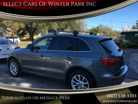 2012 Audi Q5 for sale at Select Cars Of Winter Park Inc in Orlando FL