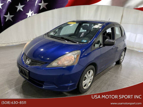 2010 Honda Fit for sale at USA Motor Sport inc in Marlborough MA