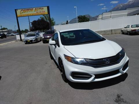 2015 Honda Civic for sale at Canyon Auto Sales in Orem UT