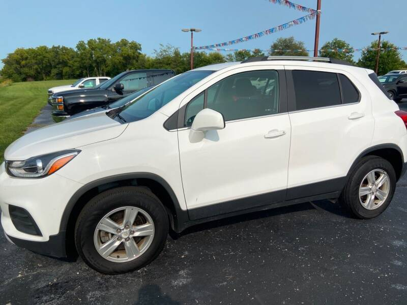 2017 Chevrolet Trax for sale at EAGLE ONE AUTO SALES in Leesburg OH