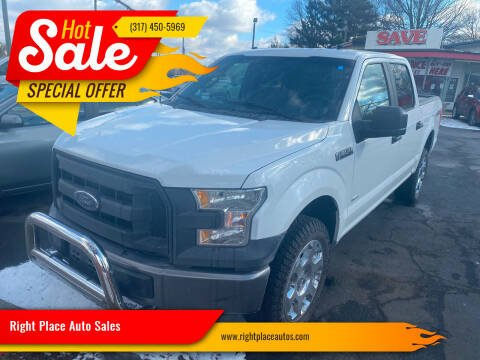 2016 Ford F-150 for sale at Right Place Auto Sales in Indianapolis IN