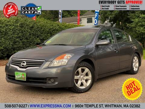 2007 Nissan Altima for sale at Auto Sales Express in Whitman MA