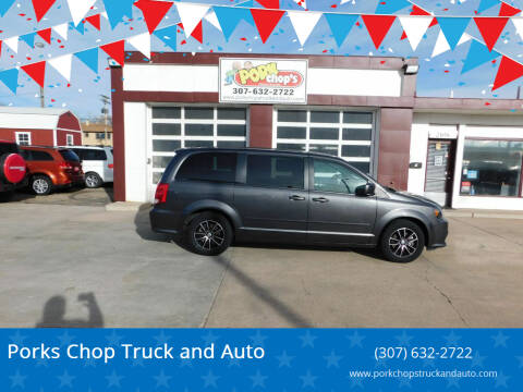 2016 Dodge Grand Caravan for sale at Porks Chop Truck and Auto in Cheyenne WY