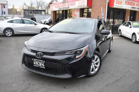 2021 Toyota Corolla for sale at Foreign Auto Imports in Irvington NJ