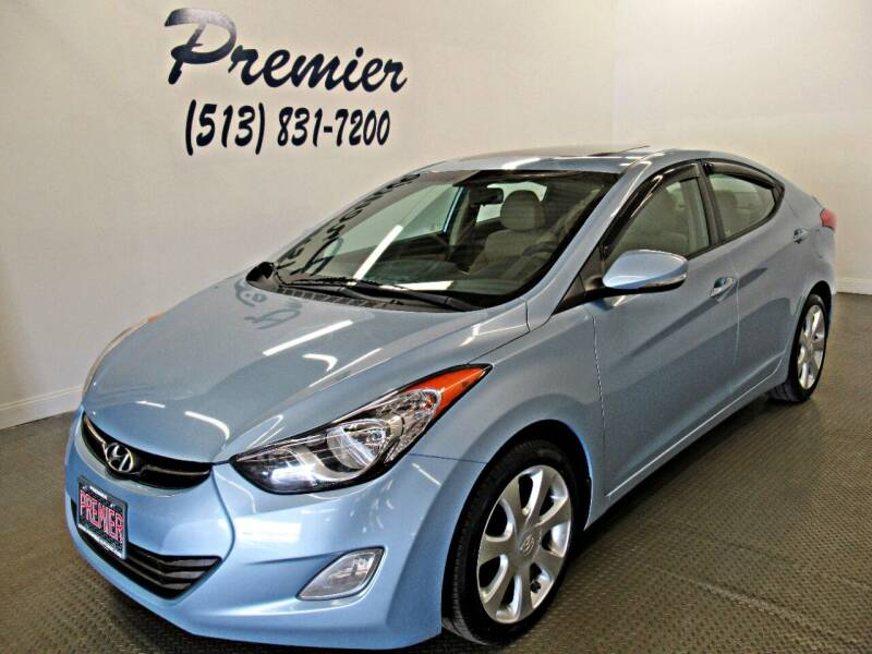 2012 Hyundai Elantra for sale at Premier Automotive Group in Milford OH