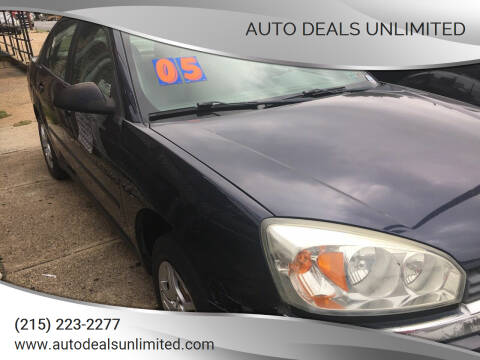 2005 Chevrolet Malibu for sale at AUTO DEALS UNLIMITED in Philadelphia PA