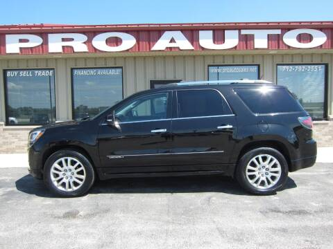 2016 GMC Acadia for sale at Pro Auto Sales in Carroll IA